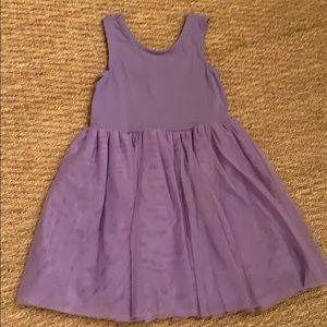 Hannah Andersson Purple Dress 6-7